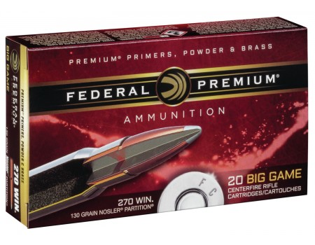 Federal Premium P270P Rifle Rounds
