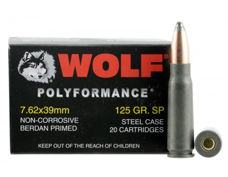 WOLF 762BSP Rifle Rounds