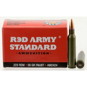 Red Army Standard AM2424 Rifle Rounds
