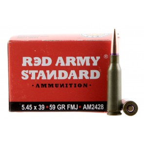 Red Army Standard AM2428 Rifle Rounds